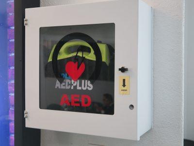 Se instaló  Desfibrilador externo automático en Oficina  de  Matriz