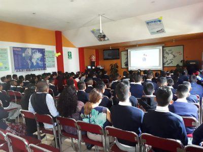 """Los alumnos de la secundaria """" JOSE MARTí"""" visitaron a planta Ixtapaluca. (10 de Septiembre)"""