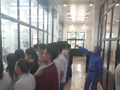 """Los alumnos del Colegio  CECYT #13, """"Ricardo Flores Magon"""" visitaron a la Fábrica Ixtapaluca (21 de Septiembre)."""