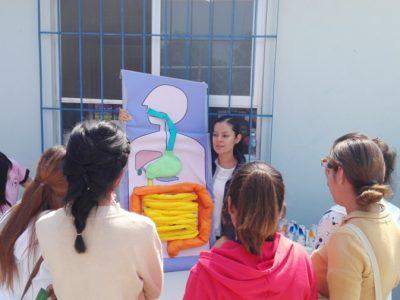 """Yakult Participó en la """"Semana Nacional de Salud del Adolescente de la Secretaría de Salud de Guanajuato"""" en Silao, Guanajuato (17 y 18 de Septiembre)."""