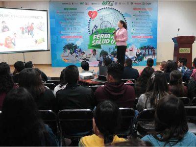 Feria de Salud de la Universidad Tecnológica de Querétaro (UTC) Corregidora Querétaro.