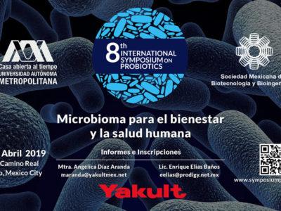 Participa en el 8th International Symposium on probiotics  del 11 al 12 de Abril.