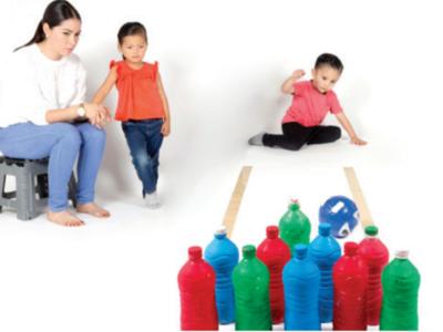 Actividad para promover la salud de los niños y jovenes de México