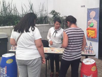 """2do Pesaje del Reto """"Actívate y vuelve a tu mejor versión"""" de Secretaría de Salud del Estado de Querétaro. Querétaro. (25 de mayo de 2019)."""