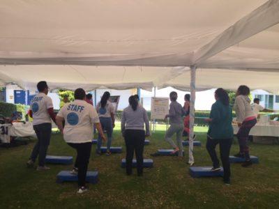 Feria de Salud Empresa Tecnofarma.  San Juan del Río, Querétaro. (3 de mayo de 2019).