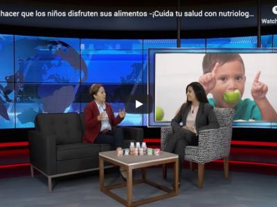 Video entrevista: ¿Cómo hacer que los niños disfruten sus alimentos?