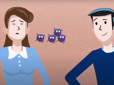 """Ve nuestro nuevo video en YouTube """"¿Cómo evitar gripa en la época de frío?"""